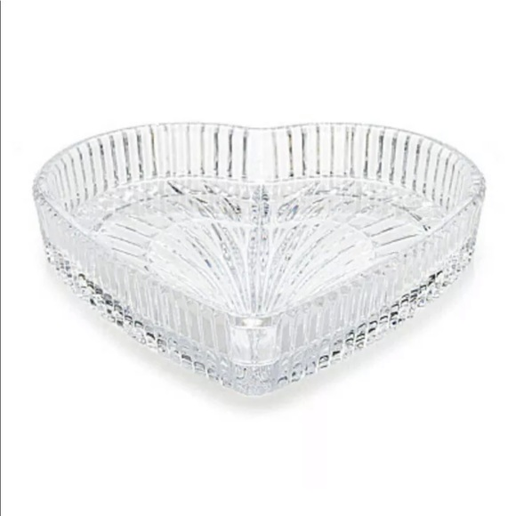 """Waterford Other - Waterford Crystal 8"""" Heart Tray"""